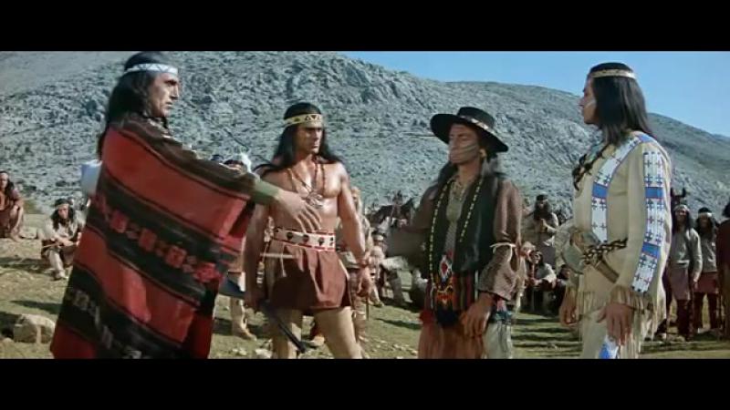 Виннету вождь апачей 1964 Vinnetu vojd apachei. приключения, вестерн,