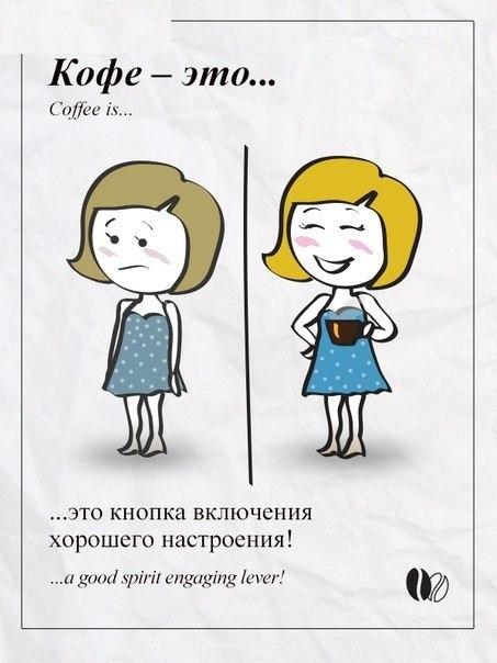 Кава - це кнопка ввімкнення