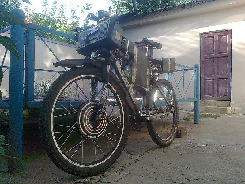 Лопнула крышка мотор-колеса