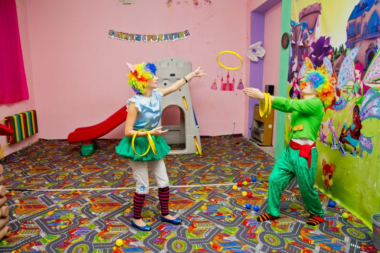 клоуны на детский праздник День рождения ребенка запорожье