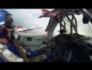Зрелищное видео полета Стрижей У наших пилотов просто стальные яйца Очень круто