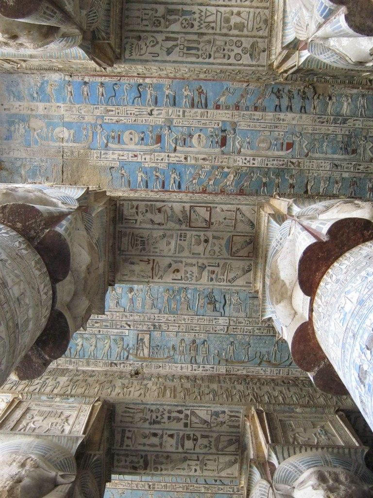 Потолок храма Дендера