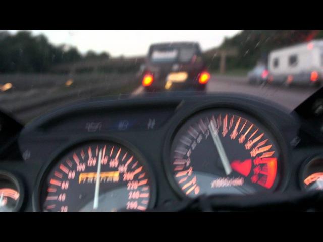 Kawasaki ZZR 600 260kmh