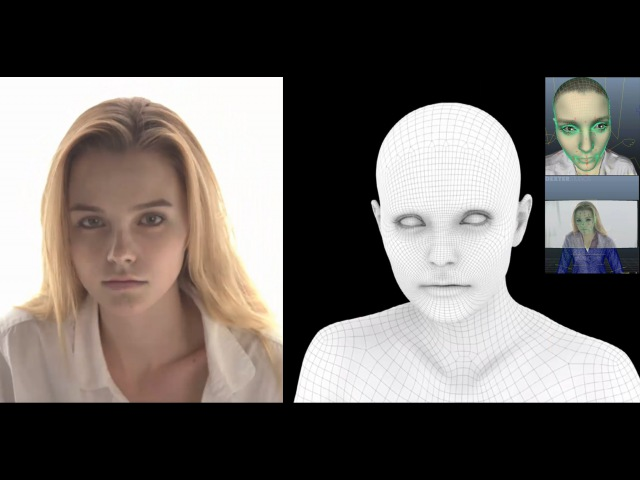 Digital Human RD by Dexter Studios (Photorealistic 3D Model, Facial Rigs and Animation)