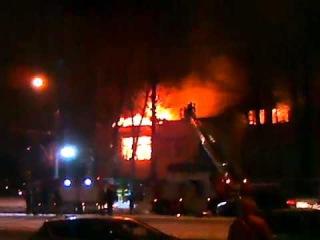 Пожар в Москве! Горит Завод по производству двигателей для самолетов МиГ