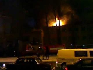 Пожар в Москве! Горит завод Салют. Завод по производству двигателей для самолетов МиГ
