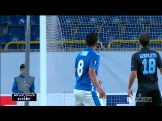 Днепр - Лацио (Обзор матча)