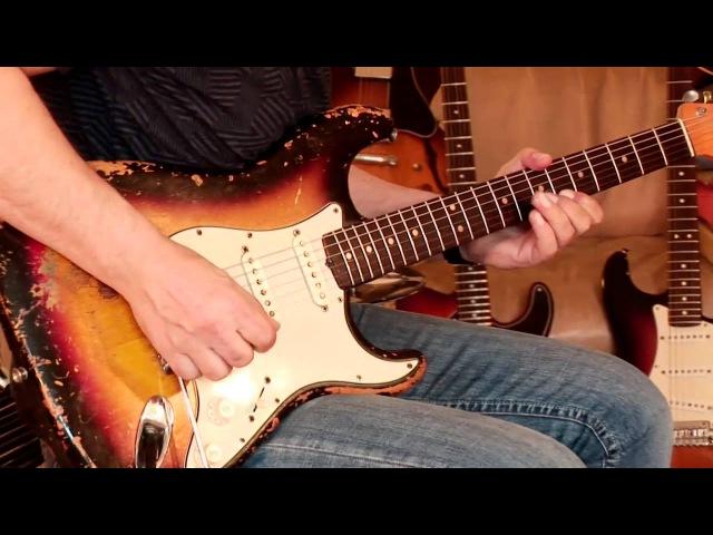 (my personal) 1963 Fender Stratocaster, sunburst, Part2