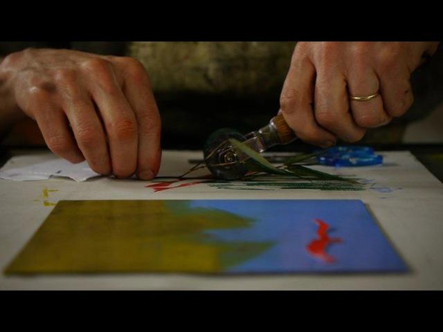 Monoprint with Simon Ripley
