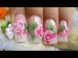 Видео урок по лепке Розы из акрила