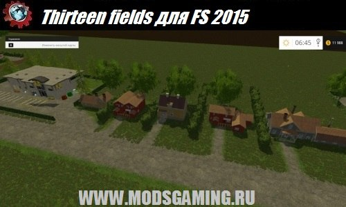 Farming Simulator 2015 download mod maps Thirteen fields