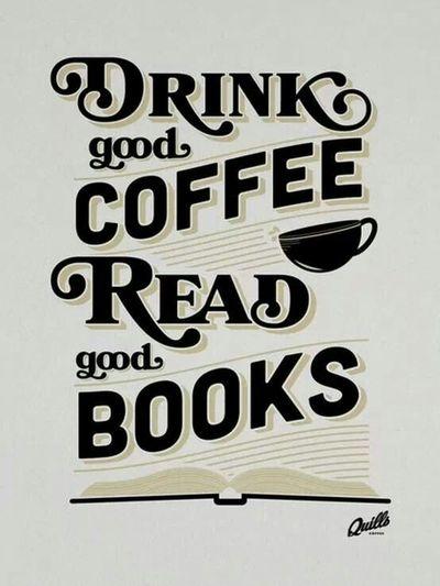 Пийте добру каву і читайте