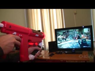 Автомат оригинальный для PlayStation 3 на примере Killzone 3