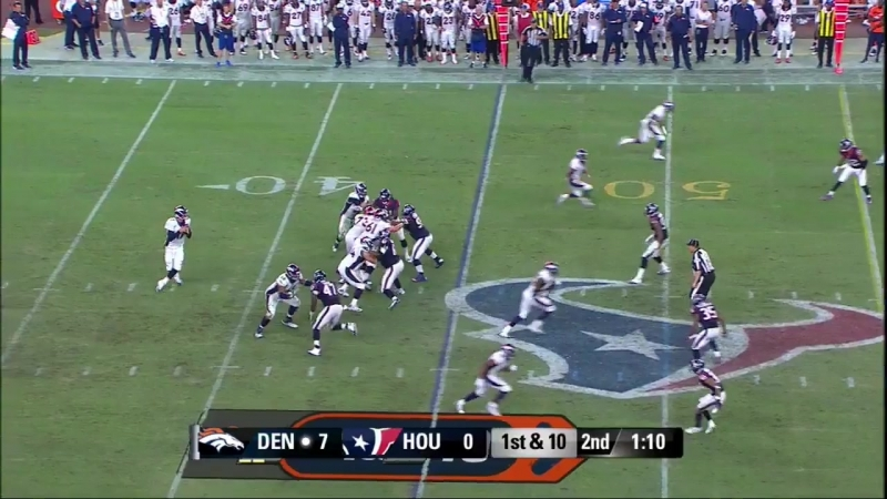NFL 2015-2016, Preseason, Week 02, Denver Broncos - Houston Texans, Condensed Games, Сжатые игры, Американский футбол, EN