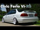 Stanced Honda Civic Ferio Vi-RS 22nd