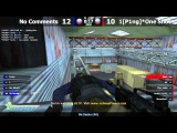 Stream cs 1.6 // 1[P1ng]*OneShot -vs- No Comments // 1/4 THGT @ by kn1fe