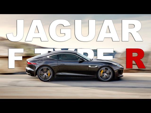 AutoTech - 2015 Jaguar F Type R Coupe Night Drive