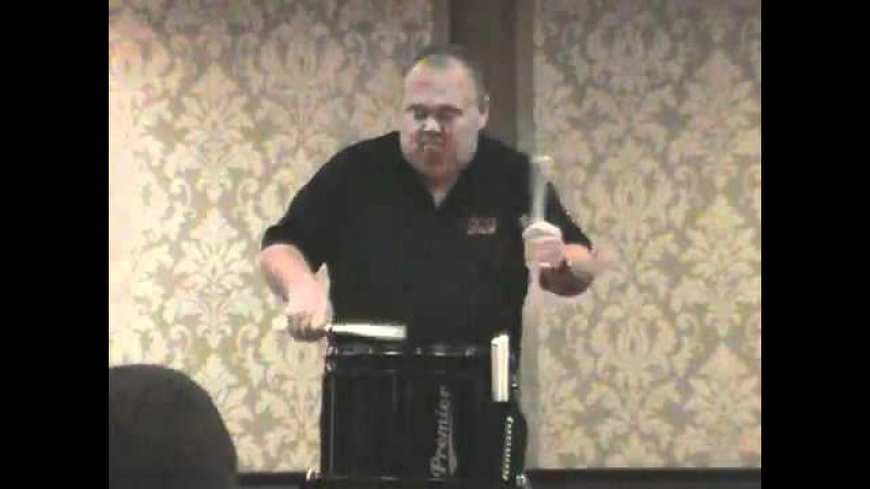 The best snare drummer you will ever see.