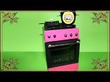 Как сделать газовую плиту для Кукол. How to make a gas stove for Doll.Barbie
