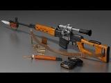 Снайперские винтовки СВД, СВД-С, СВ-98, МЦ-116, КСВК