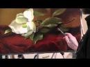 Ветка магнолии.Работа по сухому.Проблема дописывания картины Художник Игорь Сахаров