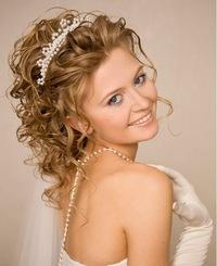 Свадебные причёски самара