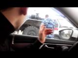 ОМОНовцы протаранили машину скорой помощи