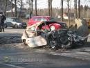 В ужасной аварии в Солнечногорском районе Московской области погибли два человека