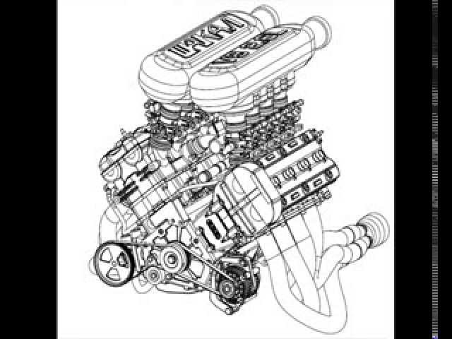 Hayabusa V8 engine