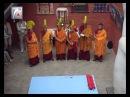 Обертонное горловое пение(чтение) тибетских монахов
