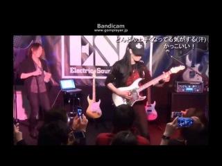 【BABYMETAL】大村孝佳&久世敦史 「Guitar seminar 6」20150429 16:00