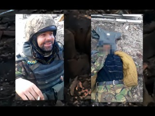[eng subs] Alive & Dead.UAF soldiers filming themselves on one day,being filmed by NAF on the other