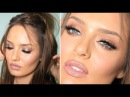 Kylie Jenner Bronze Glam With HUGE Lips Lashes