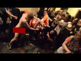 example of questionable mosh pit behavior from naked man