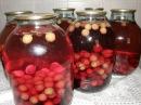 Закрываем вишневый компот на зиму Быстрый способ
