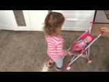 Коляска Винкс для моей куклы Wheelchair Winx for my baby doll 轮椅为我的娃娃