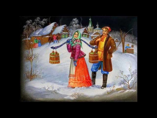 А. Варламов Красный сарафан.