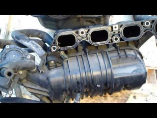 How to disassemble engine VVTi Toyota Part 6/31: Intake manifold
