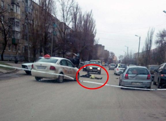 В Таганроге на Русском поле сбили человека
