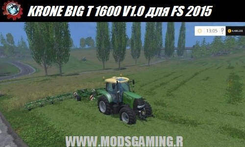 Farming Simulator 2015 download mod tractor KRONE BIG T 1600 V1.0