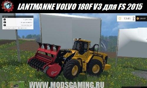 Farming Simulator 2015 download mod tractor LANTMANNE VOLVO 180F V3