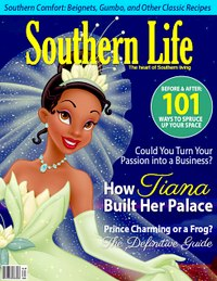 Принцессы диснея на обложках журналов