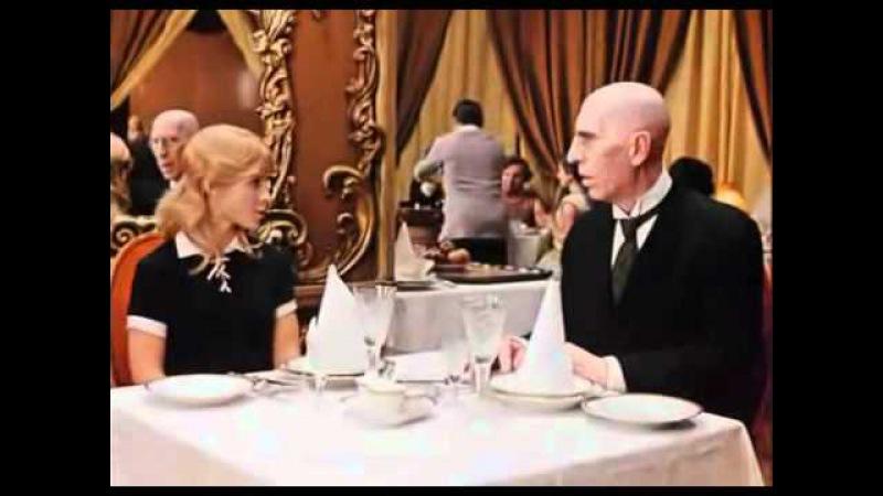 12 стульев Киса в ресторане