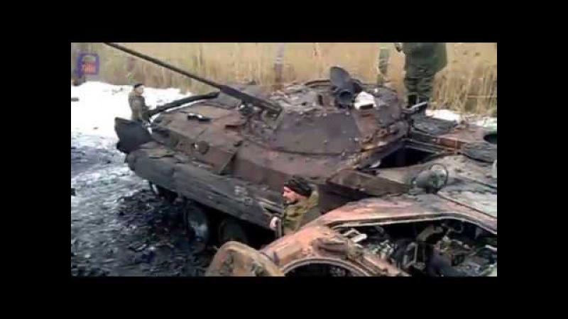 с Пески Днр атаковала бронетехнику ВСУ Peski militians attack UAF