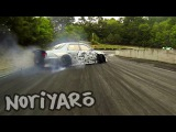 Destroying rubber on a touge-style track in Japan 峠ドリフトとそっくり!スポーツランド山梨ツインドリ&#125