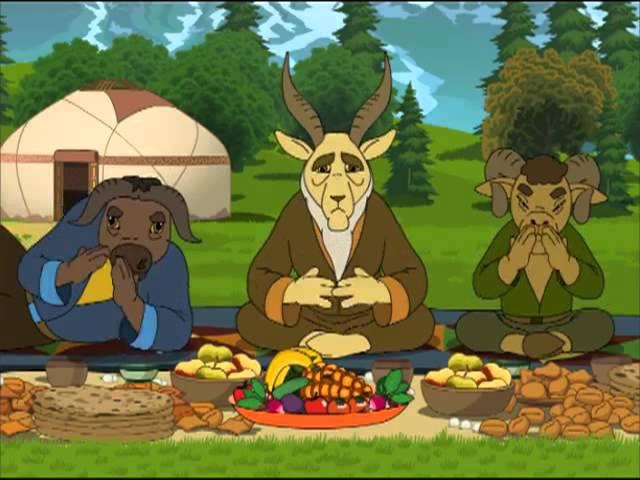 Казахстан Барысы мультфильм