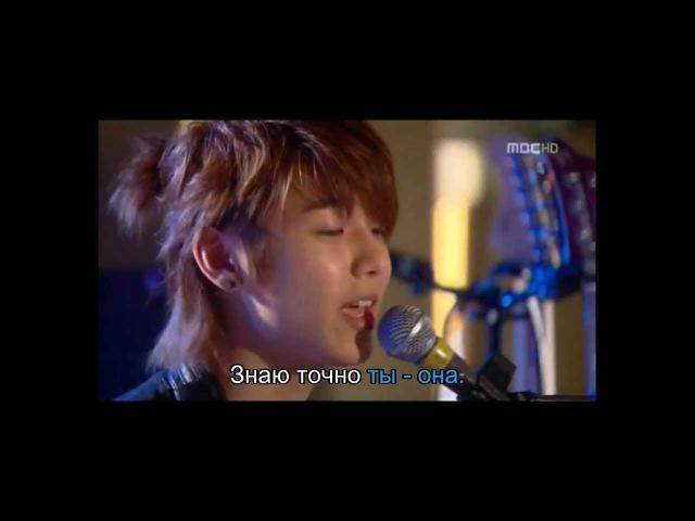 Kang Min Hyuk C.N.Blue - Star (OST Heartstrings) rus sub караоке