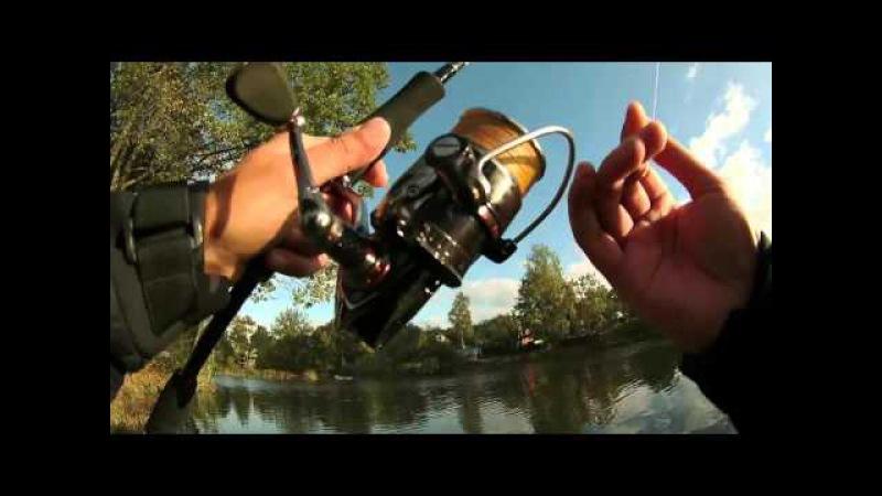 В поисках щуки - тест камеры sjcam5000