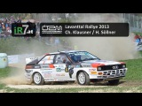 Lavanttal Rallye 2013: Christof Klausner / Harald Söllner, Audi Urquattro