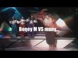 Boney M Vs many - Rasputin MEGA mashup - Paolo Monti 2015